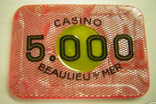 Plaque casino