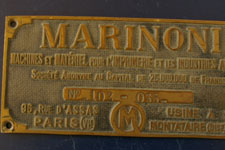 Plaque Machine Marinoni